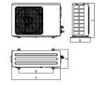 B1系列超薄风管送风式空调机组